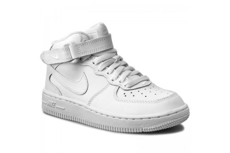 Nike Schuhe Force 1 Mid (PS) 314196 113 White/White/White