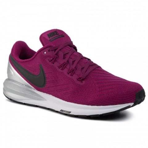 Nike Schuhe Air Zoom Structure 22 AA1640 602 True Berry/Black/Chrome/White