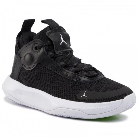 Nike Schuhe Jordan Jumpman 2020 (Gs) BQ3451 001 Black/White/Electric Green